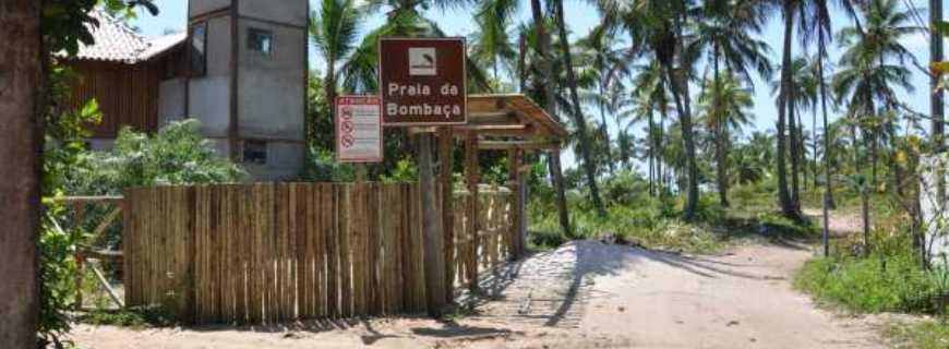 Praia da Bombaça-BA
