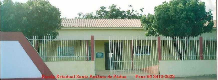 Placa de Santo Antônio-MT