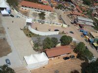 Visão Aérea da Entrada do Parque de EventosVisão Aérea da Entrada do Parque de Eventos, Por LUIZ FIGUEIRO