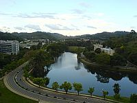 Vi�osa - Vi�osa-MG-Vista do Lago e Pr�dio da Universidade Federal de MG-Foto:joaojoel