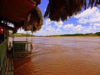 Barra do Gar�as - Barra do Gar�as-MT-�s margens do Rio Araguaia-Foto:Carlos AAlves