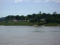 Barra do Gar�as - Barra do Gar�as-MT-Rio Araguaia e a cidade-Foto:Anizio Rezende