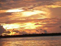 Por do SOL vista do rio Amazonas, Por Orlando Pualo Dias Pimentel