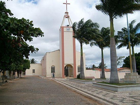 PRAÇA E IGREJA DE MANAÍRA-PB-FOTO:ESANTOSLMA - MANAÍRA - PB