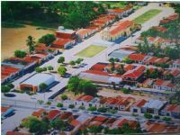vista aérea da cidade de Jandaira, Por Naninha Ferreira