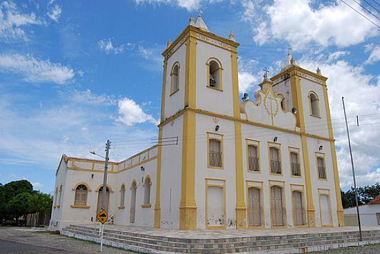 Igreja Matriz de São João do Sabugi-Foto:RICARDO SABADIA