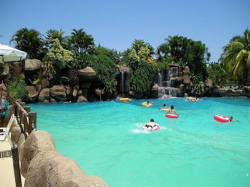 ol mpia sp piscina de ondas no parque thermas dos