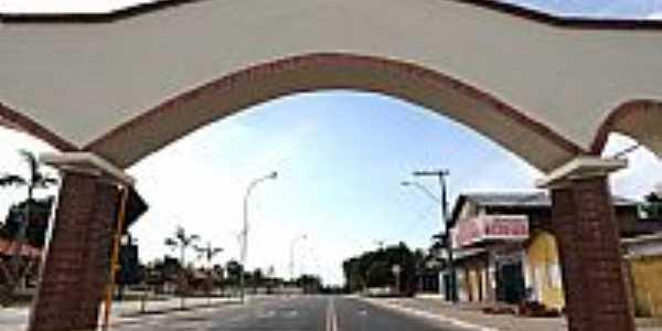 Pórtico de entrada de Mâncio Lima-Foto:JEZAFLU=ACRE=BRASIL
