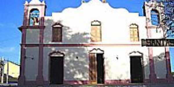 Igreja Matriz de Santana-BA-Foto:Joaquim Brandão Reis