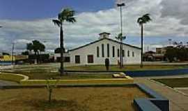 Santana do Sobrado - Praça e Igreja de N.Sra.de Santana-Foto:ADALBERTO ELETRICIST…