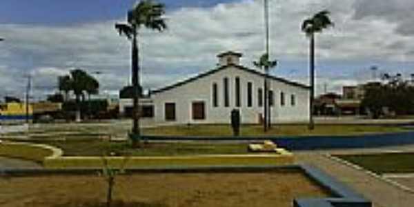Praça e Igreja de N.Sra.de Santana-Foto:ADALBERTO ELETRICIST…