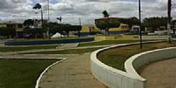 Praça em Santana do Sobrado-Foto:ADALBERTO ELETRICIST…
