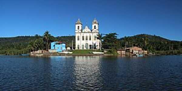 Santiago do Iguapé-BA-Matriz de São Thiago-Foto:patrimonioespiritual.