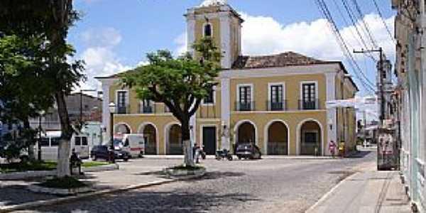 Santo Amaro-BA-Pr�dio da Prefeitura Municipal-Foto:cerrado