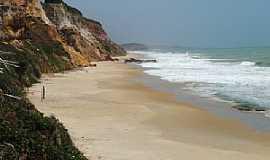 Jequiá da Praia - Jequiá da Praia-AL-Falésias na Praia da Lagoa Azeda-Foto:Alexandre Vilela