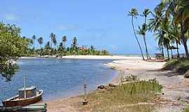 Jequiá da Praia - Jequiá da Praia-AL-Praia Barra de Jequiá-Foto:www.praias-360.com.br