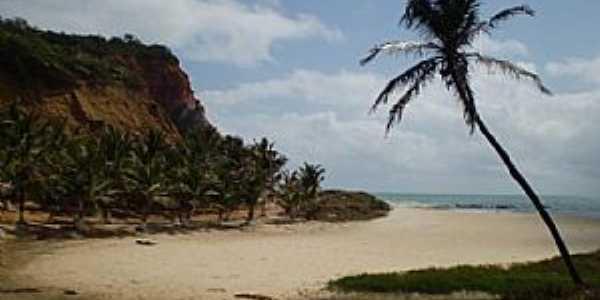 Jequi� da Praia-AL-Lagoa e Praia de Jacarecica do Sul-Foto:www.overmundo.com.br