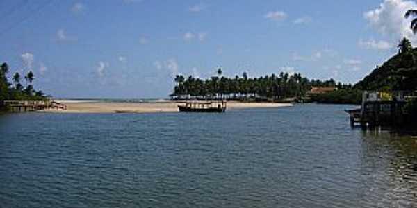 Jequiá da Praia-AL-Rio Jequiá-Foto:www.melhorespraias.com.br