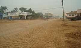 Colniza - Avenida ainda sem asfalto-Foto:euemerson