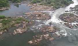 Colniza - Colniza-MT-Cachoeira no Rio Roosevelt-Foto:Fernando Raiter