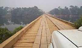 Colniza - Colniza-MT-Ponte sobre o Rio Aripuanã-Foto:Fernando Raiter