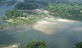 Colniza - Colniza-MT-Vista aérea do Rio Roosevelt-Foto:Fernando Raiter