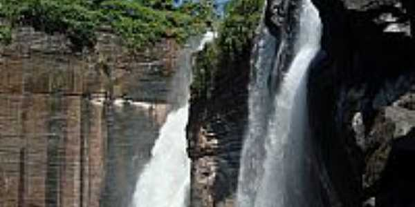 Colniza-MT-Cachoeira no Rio Aripuanã-Foto:ANDRE XIMENES DE MELO
