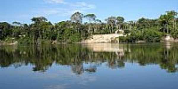 Colniza-MT-Estirão no Rio Roosevelt-Foto:wagner malheiros