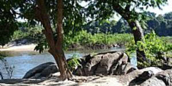 Colniza-MT-Ilha do Cotovelo no Rio Roosevelt-Foto:wagner malheiros