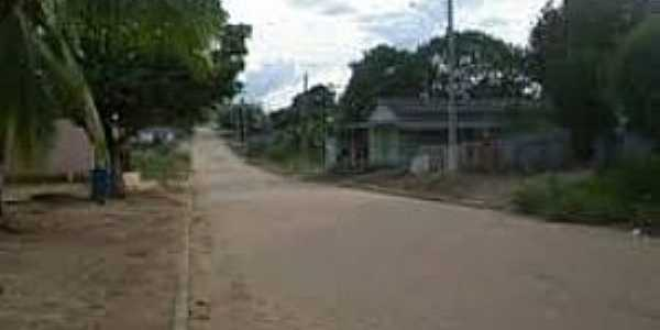 Rondolândia-MT-Entrada da cidade-Foto:www.luizberto.com