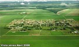 Santa Rita do Trivelato - Vista Aérea da cidade por Hilario Schiefelbein