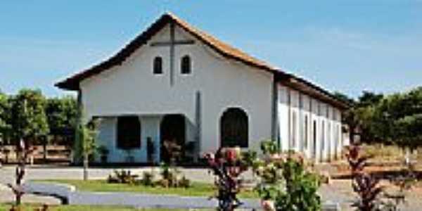 Igreja Matriz de Santa Rita em Santa Rita do Trivelato-Foto:Eduardo Gomes de Andrade