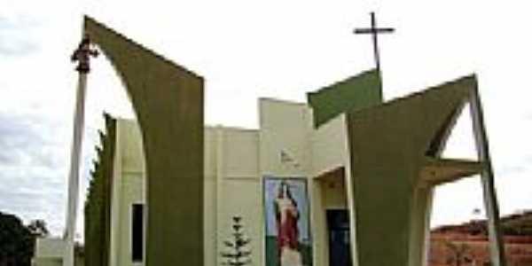 Igreja Matriz de Santa Helena foto Vicente A. Queiroz