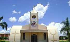 Santo Antônio do Leste - Igreja Matriz de Santo Antônio em Santo Antônio do Leste-Foto:Eduardo Gomes de Andrade