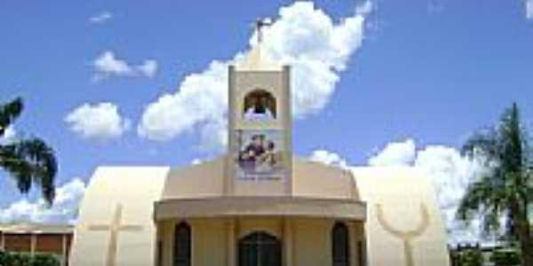 Igreja Matriz de Santo Antônio em Santo Antônio do Leste-Foto:Eduardo Gomes de Andrade