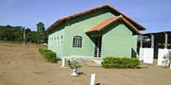 Igreja São Francisco Xavier na Vila Campinas do Araguaia município de Bom Jesus do Araguaia-Foto:Eduardo Gomes de Andrade