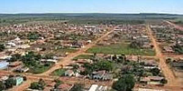 Vista parcial de Bom Jesus do Araguaia-Foto:bomdiamatogrosso.