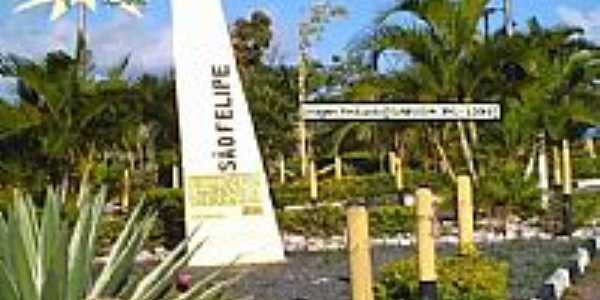 Entrada de São Felipe.