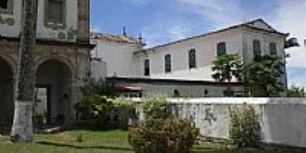 Igreja Matriz e Convento em São Francisco do Conde-BA-Foto:Carlos H. Silva de S…