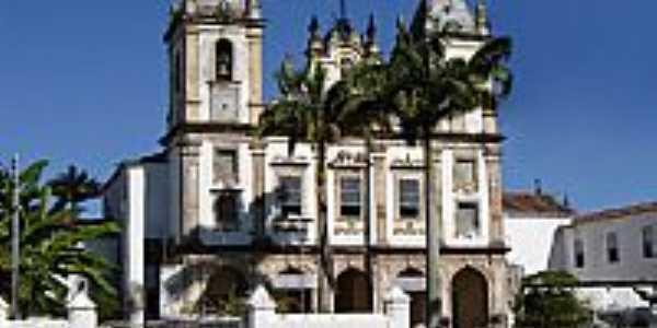 Matriz de São Gonçalo do Amarante em São Francisco do Conde-BA-Foto:Vicente A. Queiroz