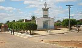São Gabriel - Antiga Igreja Matriz de São Gabriel-BA-Foto:Ivan Figueiredo
