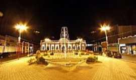 São Gonçalo dos Campos - Praça do Mercado em São Gonçalo dos Campos-Foto:Margarida Barreiros
