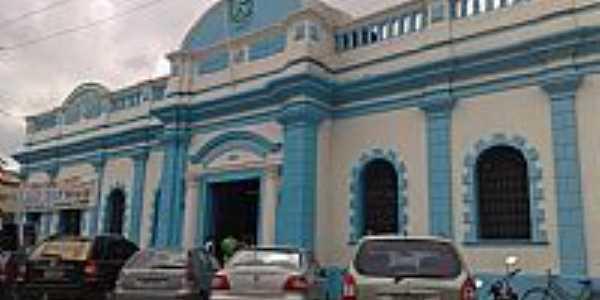 São Gonçalo dos Campos-BA-Mercado Municipal-Foto:Andre L. S. Lacerda