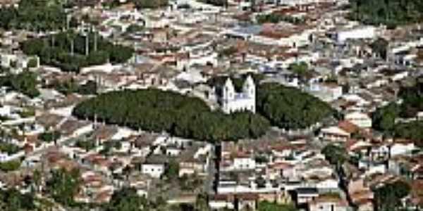 Vista aérea do centro de São Gonçalo dos Campos-BA-Foto:Skyscrapercity