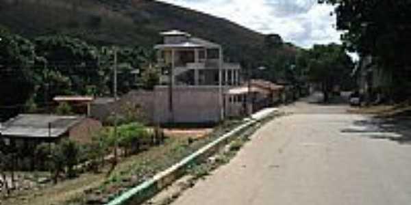 Chonin de Baixo-MG-Rua da cidade-Foto:Izaides