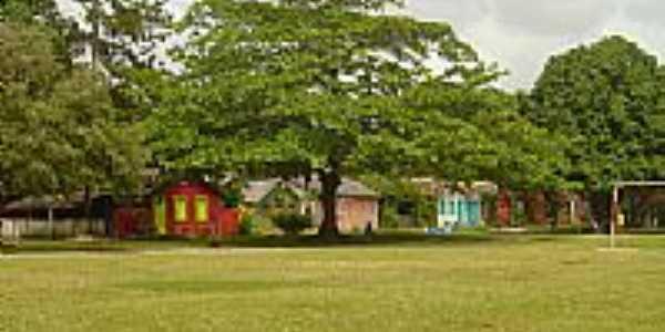 Casinhas do Quadrado de Trancoso-BA-Foto:Claudia Villar