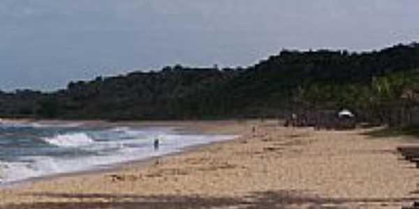 Praia, um paraiso em Trancoso-BA-Foto:Altemir Moraes