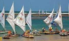 Porto de Galinhas - Jangadas-Foto:Mauricio F. Pinho