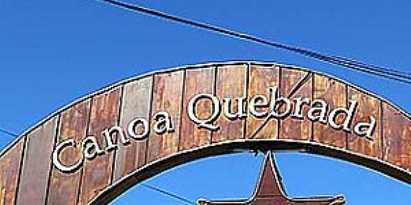 Canoa Quebrada-CE-Pórtico de entrada da Broadway-Foto:matraqueando.