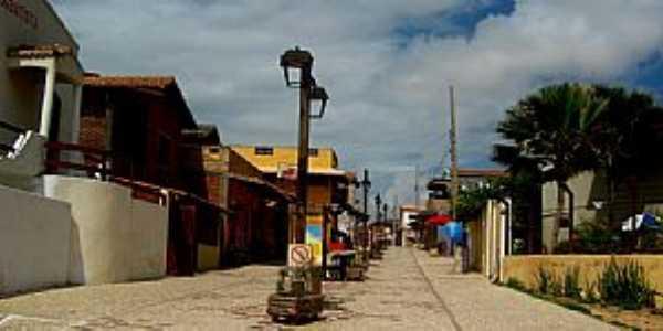 Canoa Quebrada-CE-Rua da Brodway-Foto:ARAGÃO